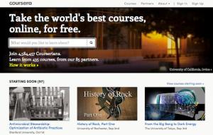 オンライン教育・MOOCsの現状、課題、可能性 ー Courseraで東大の講義配信開始